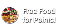 Free Food for Points!