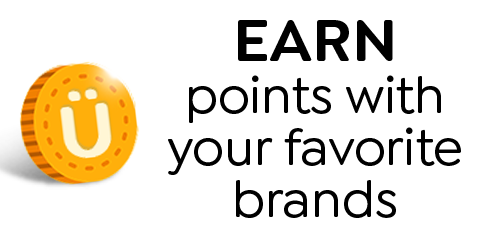 Earn points with your favorite brand